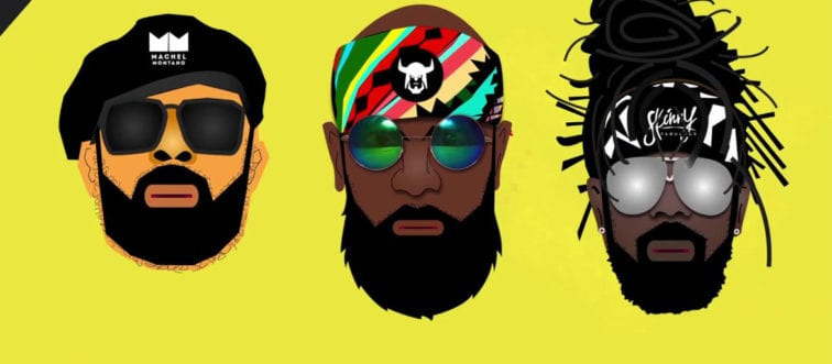 Skinny Fabulous, Machel Montano, Bunji Garlin - Famalay