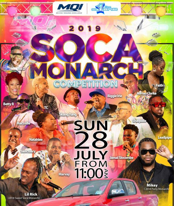 MQI,98.1 Soca Monarch