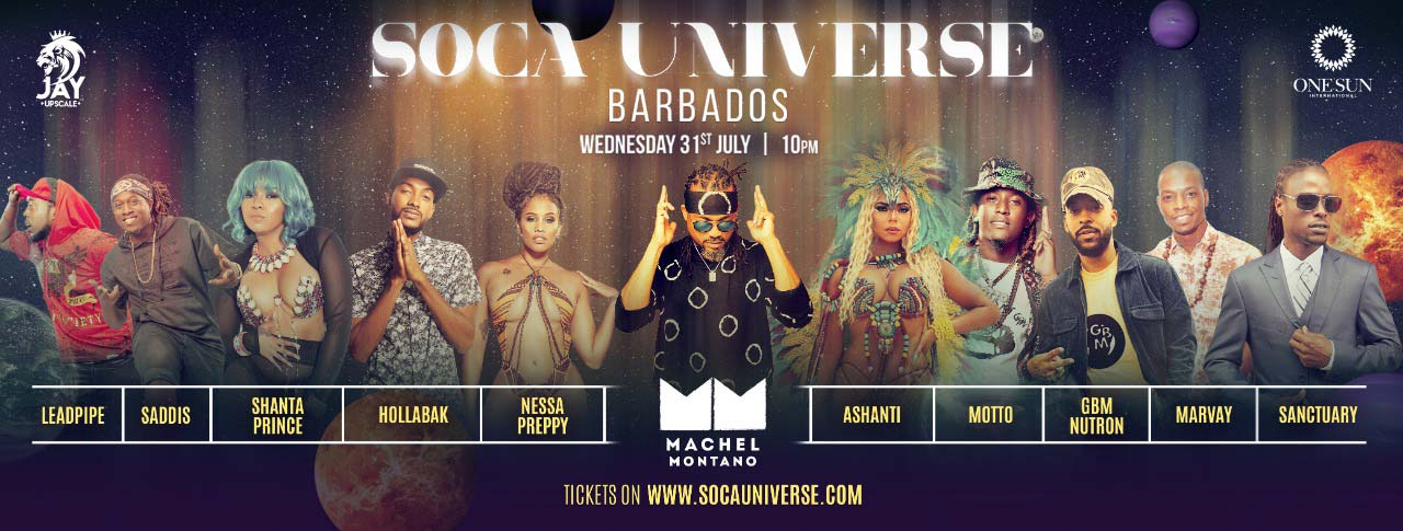 Soca Universe - Machel Montano and friends